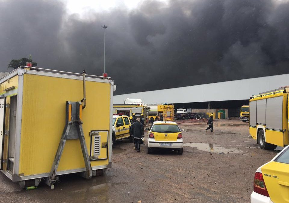 Factory Fire in Rossburgh – March 2017