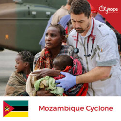Mozambique Cyclone Crowdfunding