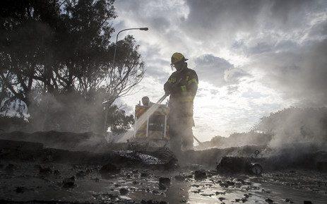 Fire damage Masiphumelele   19th May 2019