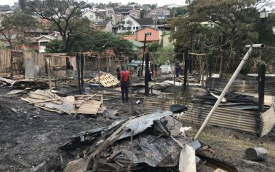 Fire Damage Masiphumelele – June 2019