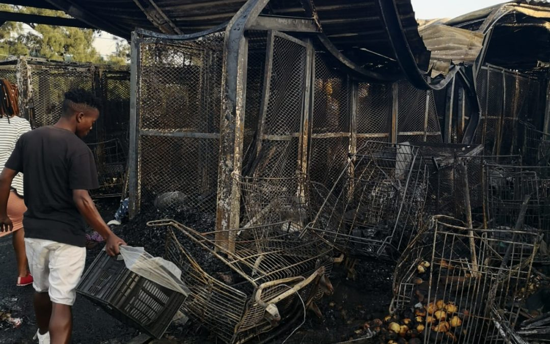 Pinetown Traders Fire Damage – July 2019