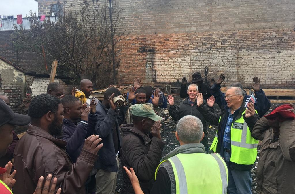 Fire in Jeppestown, Johannesburg – February 2020